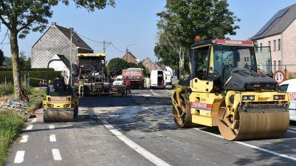 Verscheidene straten krijgen nieuwe laag asfalt