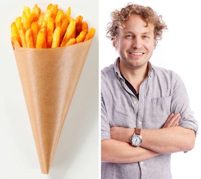 Let op de coronakilo's of eet meer friet? Columnist Niels Herijgens hoorde tegenstrijdige adviezen.