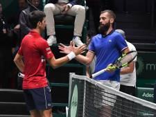 La France battue par la Serbie et éliminée de la Coupe Davis