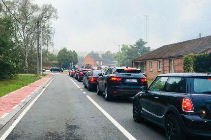 Bijna drie kwart van de Belgen gaat werken met de auto