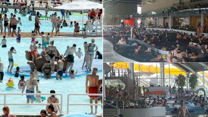 """Gouden zaken voor openbare zwembaden maar vooral """"gezellig"""" druk in het water"""
