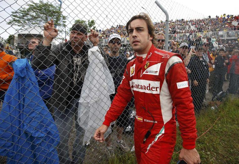Fernando Alonso: 45 miljoen dollar. Beeld reuters