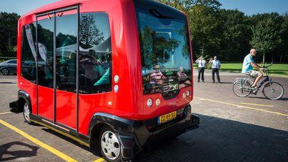 Weldra met zelfrijdende bus naar het werk?