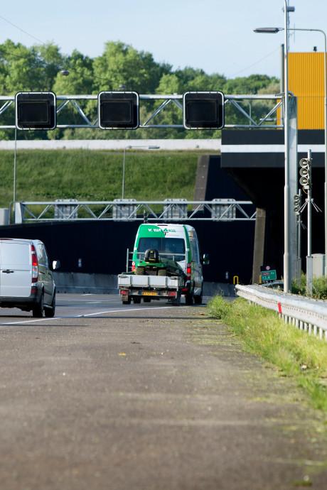 GroenLinks: verlaag snelheid in tunnel