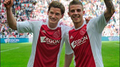 """De Ajaxjaren van 'Jan en Toby': """"Stap straks aub één keer over de bal heen. Jullie blijven Ajacieden"""""""