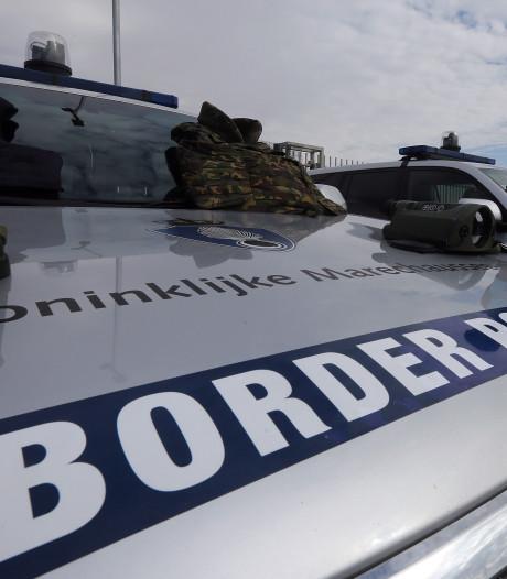 Europese grenswachters Frontex op patrouille langs Grieks-Albanese grens
