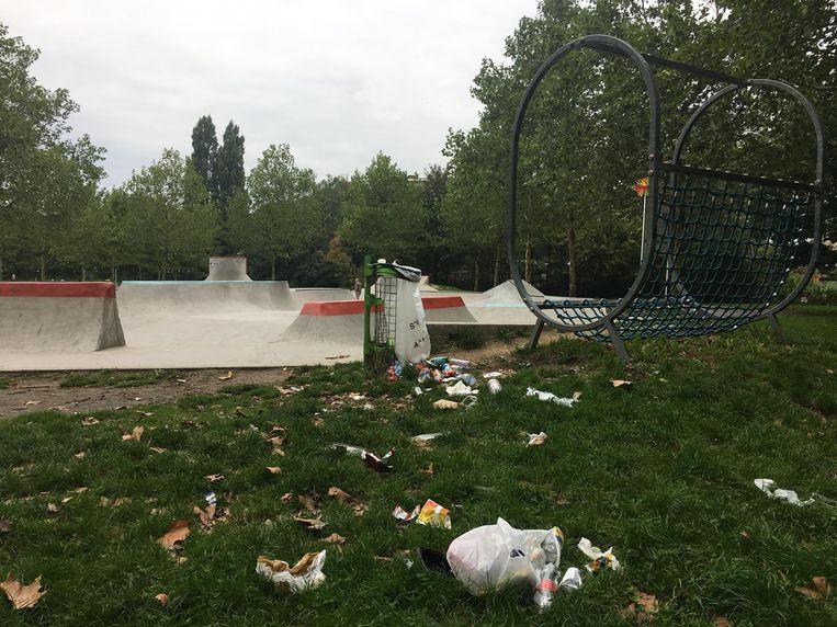 Een foto die Gert Van Reckem deze week nam in het stadspark.