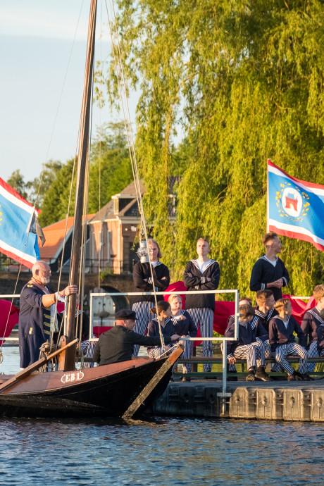 Elburg gaat met Admiraal Van Kinsbergen even terug in de tijd