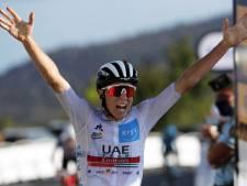 Ritwinnaar Pogacar vol vertrouwen: 'Plan blijft Tour te winnen'