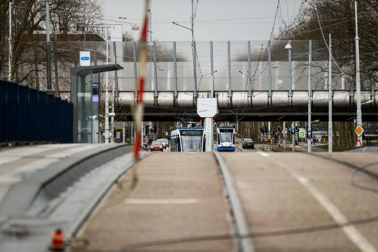 'In de Heemstedestraat hebben te veel mensen hun laatste ritje gefietst.' Beeld Robin van Lonkhuijsen/ANP