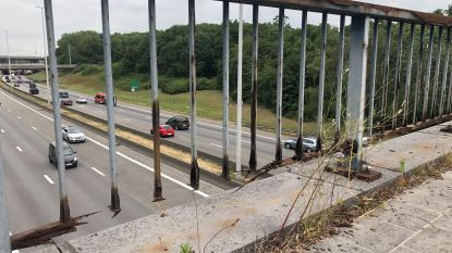 Leuning brug over Brusselse ring in Diegem voorlopig niet vervangen