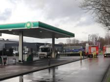 Tankstation afgesloten aan de Europaweg in Apeldoorn vanwege lpg-lekkage