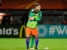 Uitblinkster Van Veenendaal: Ik was blij dat de wedstrijd was afgelopen