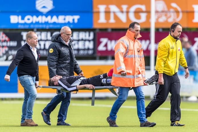 De trieste aftocht van Nils den  Hartog.