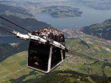 Panne d'un téléphérique en Suisse, 200 personnes bloquées