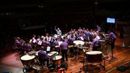 Geen verjaardagsconcert, wel muziek voor de zorgsector van Brassband Willebroek