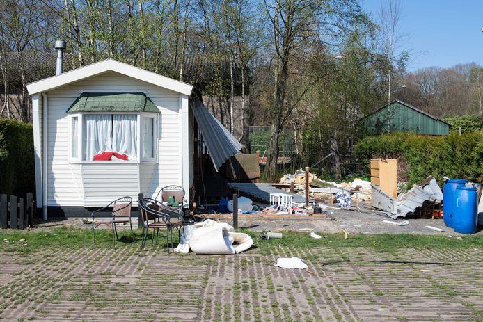 De ontruiming op camping Westerholt