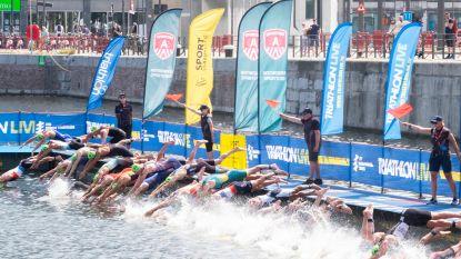 Zwemmen en zweten: triatlonfestival op Eilandje is nu al klassieker