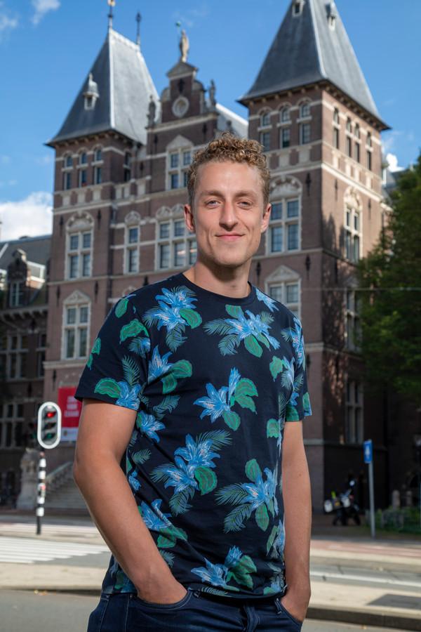 Joost Mallo (31) werkte bij het Koninklijke Instituut voor de Tropen. 'Ik vind het belangrijk om een baan te vinden die goed voelt.'
