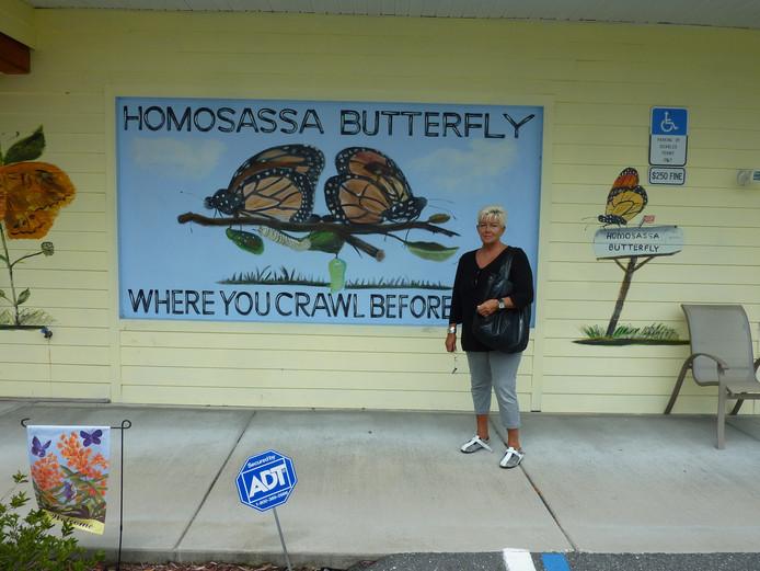 Oma Sonja in Florida.