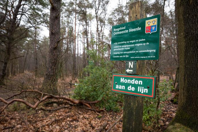 Heerde heeft een aanlijnplicht ingevoerd voor een groot deel van de Renderklippen.
