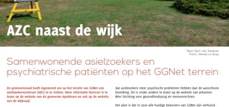 Censuurconflict over azc voorbij na mediation; redactie van Apeldoorns wijkblad schrijft weer