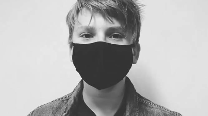 """Leerlingen middenschool roepen collega-studenten via origineel filmpje op om mondmasker te dragen: """"Strijd van ons allemaal"""""""