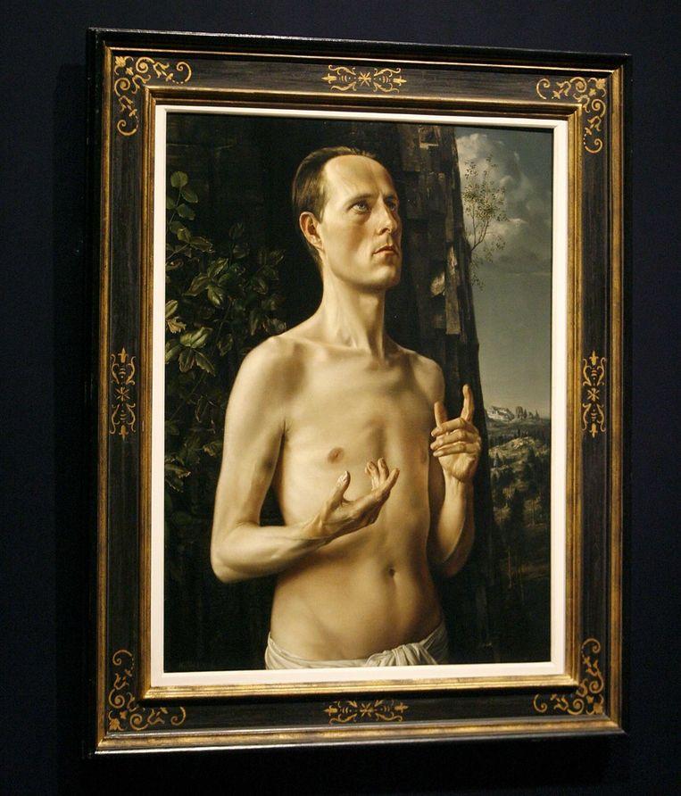 Een zelfportret van Carel Willink Beeld ANP