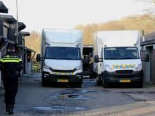 Politie arresteert drie verdachten voor gestolen auto-onderdelen in Haarense loods