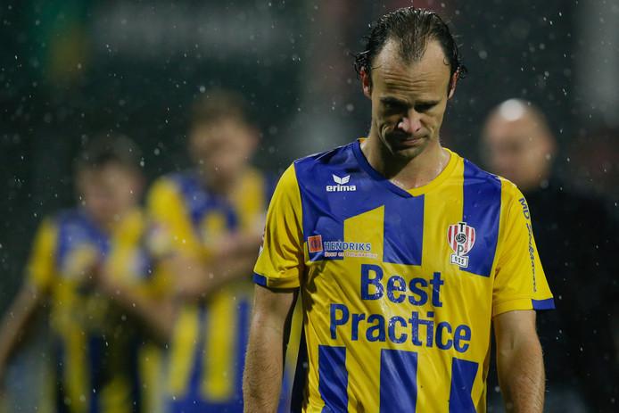 Niels Fleuren druipt af tegen FC Dordrecht.