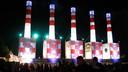 Ook de iconische Lowlands-schoorstenen komen uit Weesp, naar een ontwerp van designer en Claw Boys Claw-zanger Peter te Bos. In 2002 verschenen de eerste modellen op het festival, later kregen ze een nieuw kleurtje.