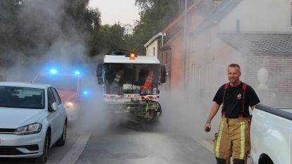Cementspoor van 1 kilometer lang: gemeente en brandweer hebben uur werk met schoonmaak