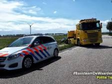 Automobilist gewond door ongeval in Lienden
