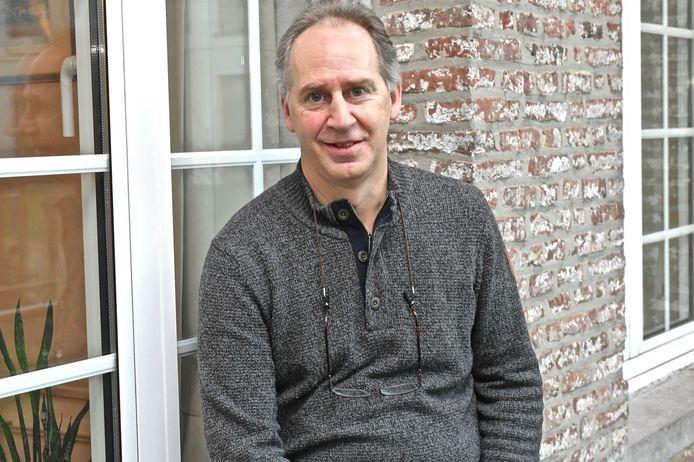 Directeur Joost Vandenbussche van het wzc Sint-Jozef in Moorsele.