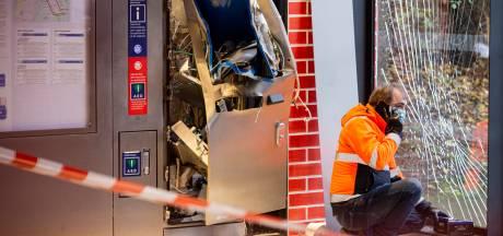 Geen buit bij opgeblazen kaartjesautomaat metrohalte Reigersbos