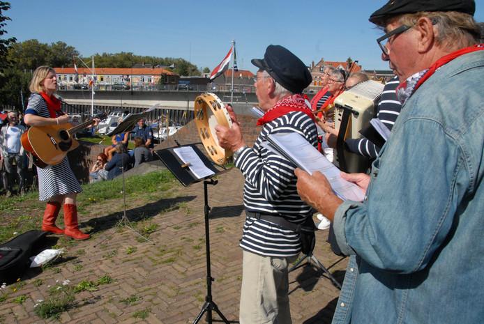 Muziek tijdens Maritiem Light in Den Bosch.