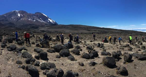 Klimmers Gemert voor albinisme op top van Kilimanjaro