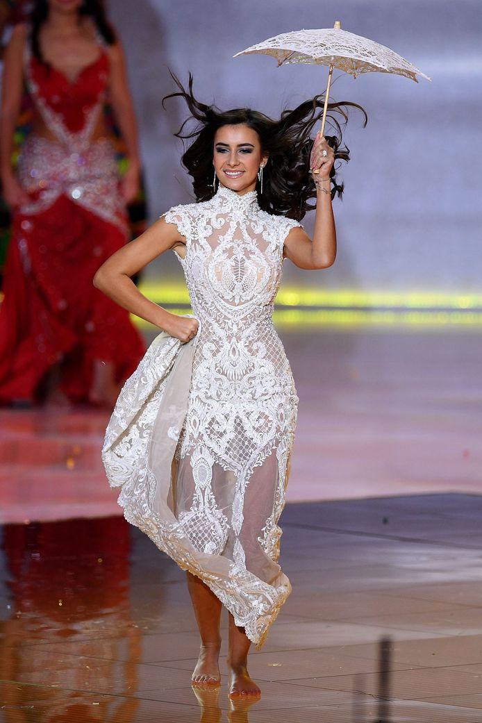 Elena Castro Suarez a rapidement été éliminée du concours