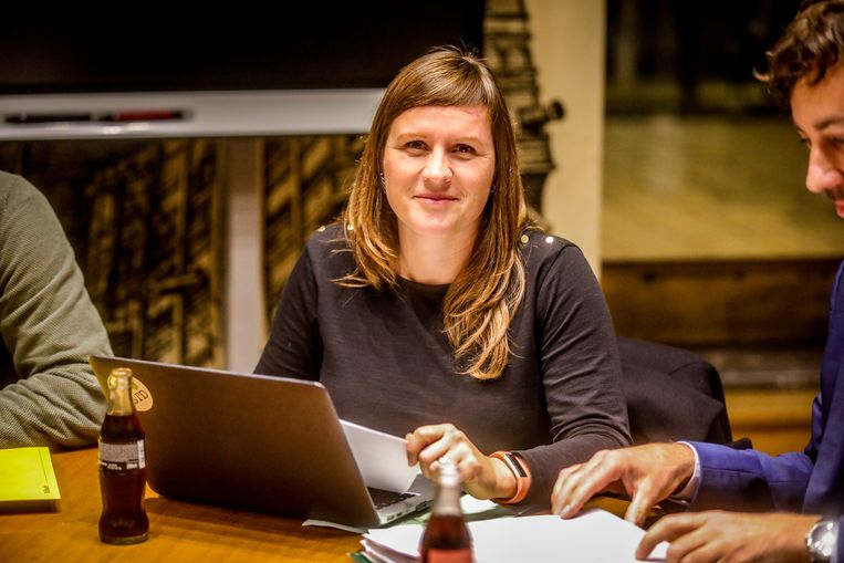 Oostende coalitiegesprekken: Natacha Waldmann