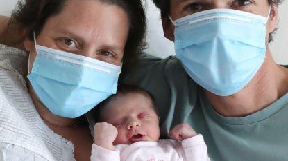 Moeder met corona bevalt van kerngezonde baby
