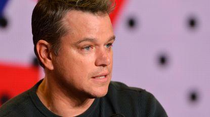 """Matt Damon geschrapt uit 'Ocean's 8': """"Hij paste niet meer in de verhaallijn"""""""