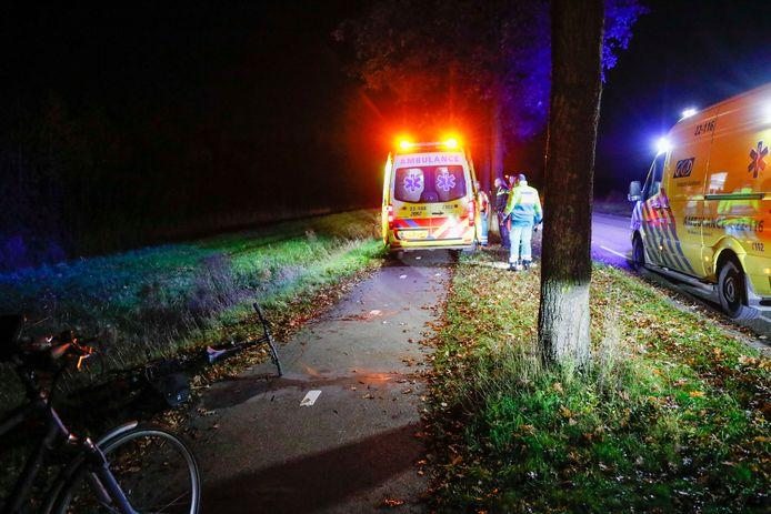 Een fietser raakte zwaargewond in Eindhoven.