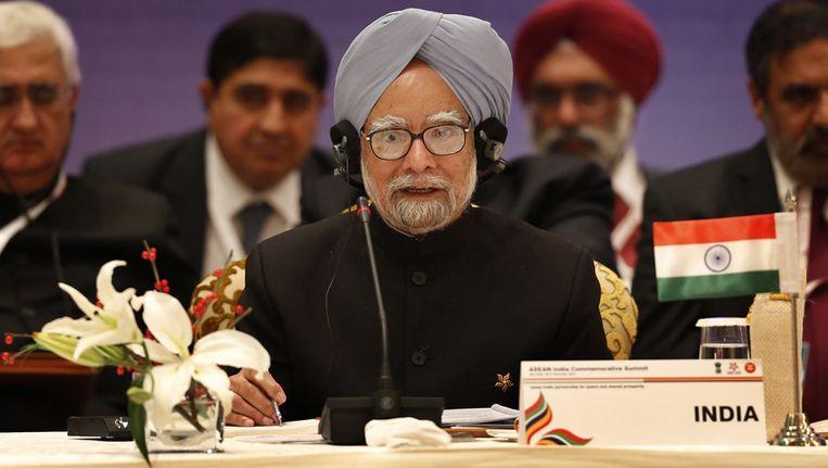 De Indiase premier Manmohan Singh Beeld ap