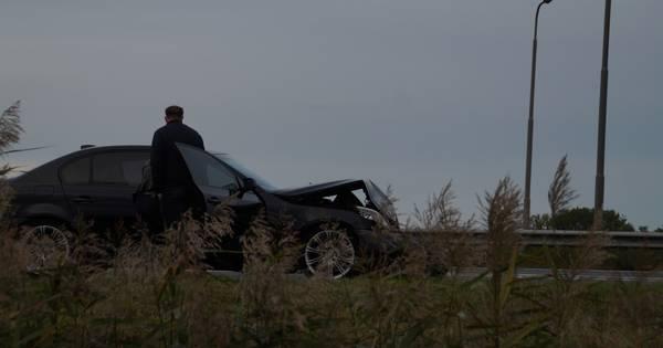 Drie autos betrokken bij ongeluk op N36 bij Wierden, vrouw gewond.