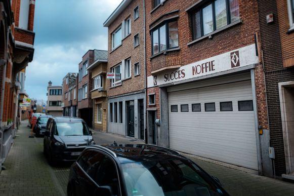 Het gebouw van Succes Koffie in de Kerkstraat.