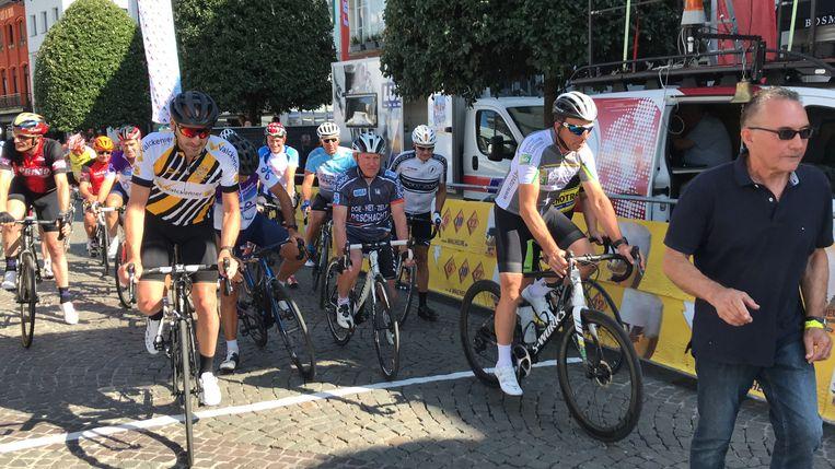 Gentlemens race na-Tourcriterium Aalst.
