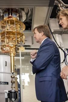 Mogelijkheden quantumcomputer maken diepe indruk op de koning
