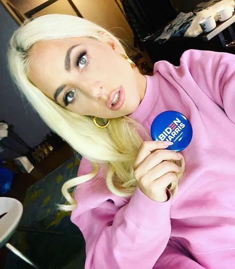 Lady Gaga zingt volkslied bij inauguratie Joe Biden