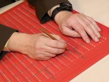 Blinden en slechtzienden kunnen zelfstandig stemmen in de Hofstad
