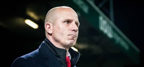 Willem II gaat niet verder met trainer Robbemond